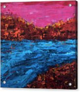 River Run Acrylic Print