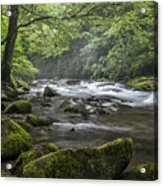 River Runs Free. Acrylic Print by Itai Minovitz