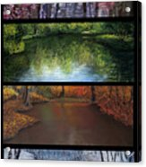 River Seasons Acrylic Print by Susan Jenkins