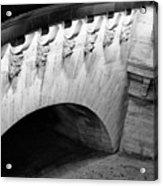 River Seine Bridge Acrylic Print by Tony Grider