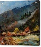 River Semois Acrylic Print