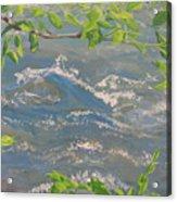 River Spring Acrylic Print