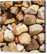 River Stones Acrylic Print