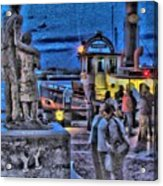 River Street Blues Acrylic Print