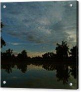 River Sunrise 1 Acrylic Print