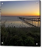 River Sunsrise - Florida Sunrise Scenic Acrylic Print