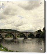 River Tay At Dunkeld Acrylic Print