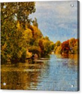 River Thames At Staines Acrylic Print