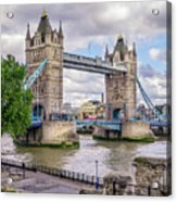 River Thames Acrylic Print