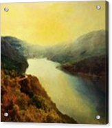River Valley Sunrise Acrylic Print