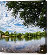 River View At Cartersville 1878ta Acrylic Print