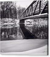 River View B And W Acrylic Print