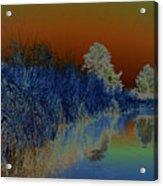 River View Serenity Acrylic Print