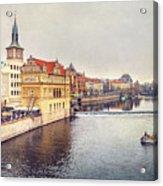 River Vltava Acrylic Print
