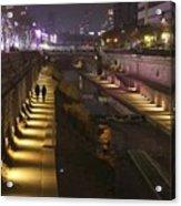 River Walk - Cheonggyecheon - Seoul Acrylic Print