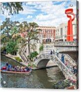 River Walk View San Antonio Acrylic Print