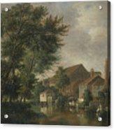 River Wensum, Norwich Acrylic Print