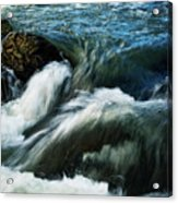 River With Rapids Acrylic Print