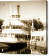 Riverboat, Liberty Square, Walt Disney World Acrylic Print