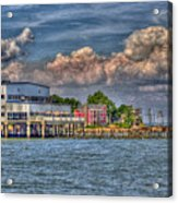 Riverboat On The Potomac Acrylic Print