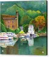 Riverboats Acrylic Print