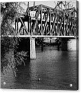 Riverfront Bridge Acrylic Print