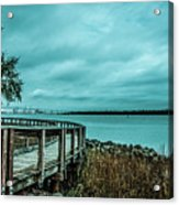 Riverfront Park Boardwalk Acrylic Print