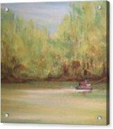 Rivergreen Acrylic Print