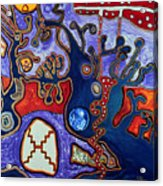 Rivers Of Arcturian Emination Acrylic Print