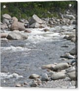 Rivers Of New Hampshire Acrylic Print