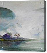 Riverscape No 5 Acrylic Print
