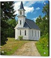 Riverside Presbyterian Church 1800s Acrylic Print