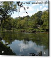 Riverside Reflection Acrylic Print
