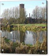Riverside Walk - Burton On Trent Acrylic Print