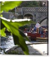 Riverwalk In San Antonio Acrylic Print