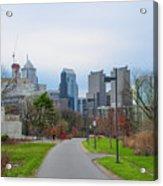 Riverwalk - Philadelphia Acrylic Print