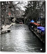 Riverwalk Acrylic Print by Shane Rees
