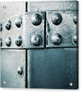Riveted Pieces Of Iron Acrylic Print