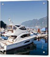 Riviera 53 Yacht Acrylic Print