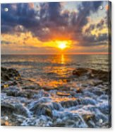Riviera Beach Sunrise  Acrylic Print
