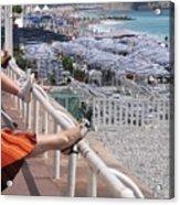 Riviera Breeze Acrylic Print