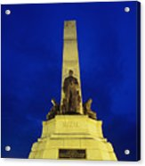 Rizal Monument Acrylic Print