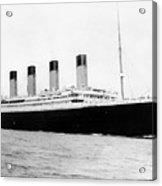 Rms Titanic Acrylic Print