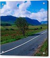 Road From Westport To Leenane, Co Mayo Acrylic Print