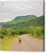 Road In Khondowe, Malawi Acrylic Print