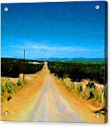 Road Acrylic Print