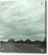 Road Leading To Mesa Acrylic Print