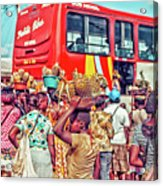 Road Market II Acrylic Print