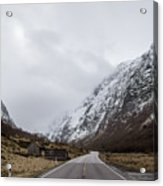 Road Of Norway Acrylic Print