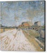 Road Running Beside The Paris Ramparts Paris, June - September 1887 Vincent Van Gogh 1853  1890 Acrylic Print